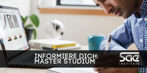 Informationsabend: Master Professional Practice