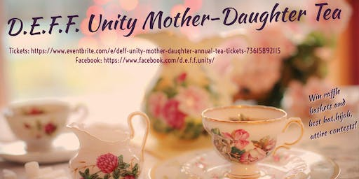 DEFF Unity Annual Mother-Daughter Tea