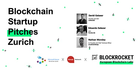 Blockchain Startup Pitches - Zürich tickets