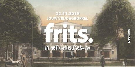 Frits in het concertgebouw (uitverkocht) tickets