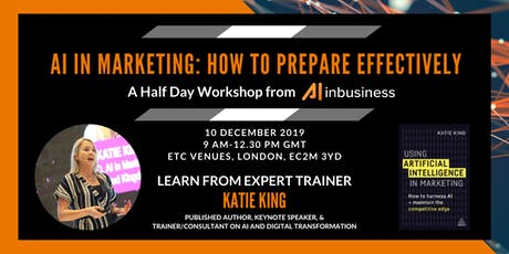 AI in Marketing: How to Prepare Effectively - Half-Day Workshop tickets