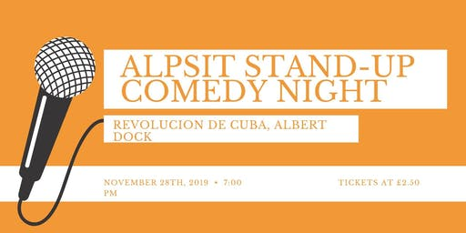 ALPSIT STAND-UP COMEDY EVENING