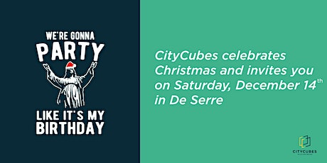 CityCubes X-mass Party (Limited Guestlist only!) tickets