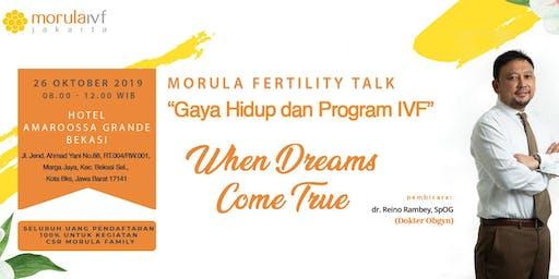 Morula Fertility Talk Bekasi