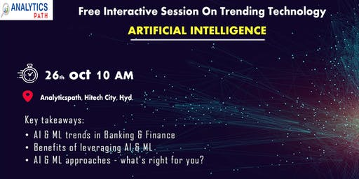 Enroll For Free Interactive Session On AI By Trainers From IIT & IIM.