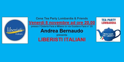 Cena Tea Party Lombardia & Friends