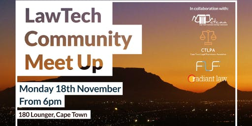Cape Town LawTech Community Meet Up November 2019