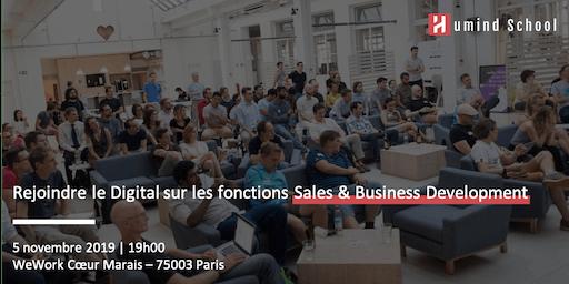 Rejoindre le Digital sur les fonctions Sales & Business Development