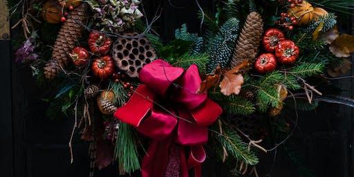 Beautiful Flowers Wreath Workshop 3rd December