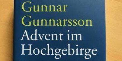 """Lesung """"Advent im Hochgebirge"""" von Gunnar Gunnarsson"""