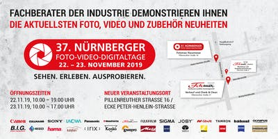 37. Nürnberger Foto-Video-Digitaltage 2019