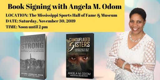 Book Signing with Angela M. Odom in Jackson, MS