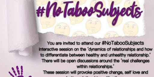 No Taboo Subjects - Promoting Healthy Relationships