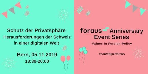 Schutz der Privatsphäre - die Schweiz im digitalen Zeitalter