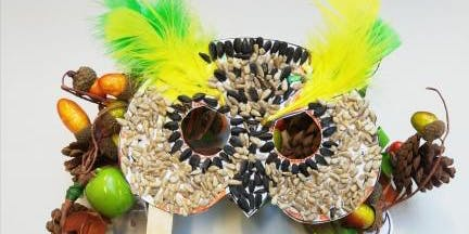 Stroud Library-Owl Mask Autumn Craft event