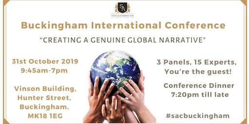 Buckingham International Conference