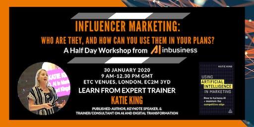 Influencer Marketing - Half-Day Workshop