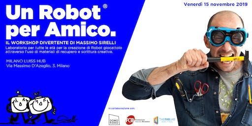 Un Robot per amico   Massimo Sirelli