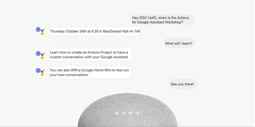 Actions with Google Assistant Workshop