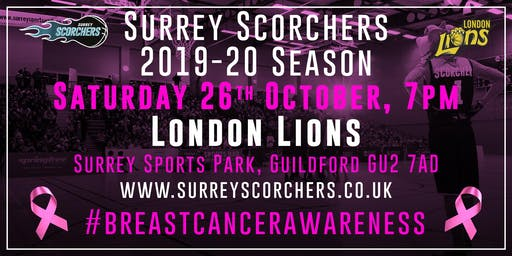 Surrey Scorchers v London Lions - BBL Cup - Surrey Sports Park