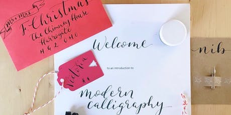 Introduction to Modern Calligraphy - Ripponden tickets