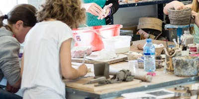 Pottery Club 4 - 11yrs