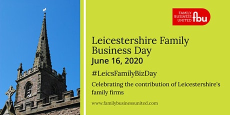 Leicestershire Family Business Day 2020 tickets