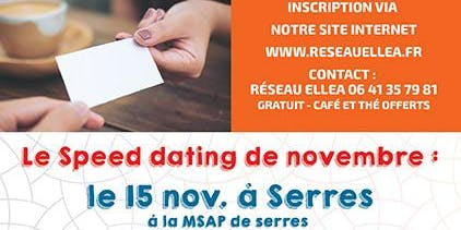 SPEED DATING BUSINESS 100 % FEMININ DU 15 NOVEMBRE 2019- SERRES