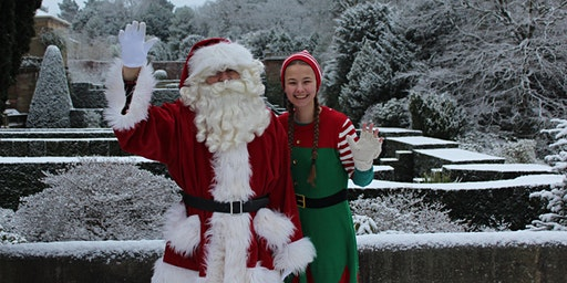 Meet Father Christmas in his Christmas Cottage (includes trail)