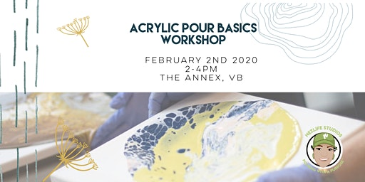 Come Find Your Inner Artist- Acrylic Pour Workshop