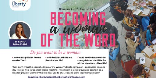 Becoming a Woman of the Word - Women's Circle Connect Day