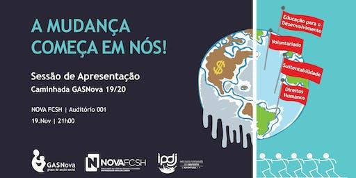 GASNova | Sessão de Apresentação 19/20