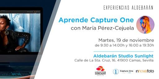 Experiencias Aldebarán - Aprende Capture One con María Pérez-Cejuela