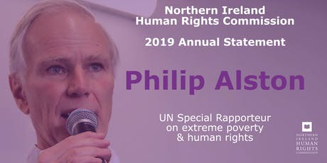 NIHRC Annual Statement Launch with Philip Alston tickets