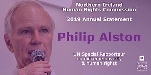 NIHRC Annual Statement Launch with Philip Alston