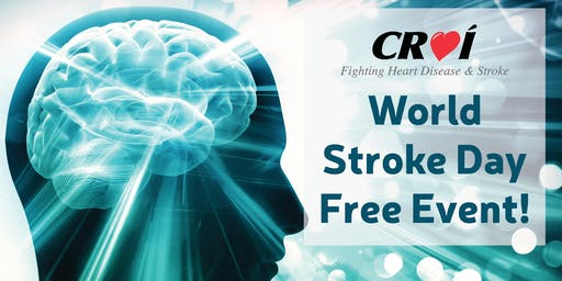 World Stroke Day FREE Event At Croí