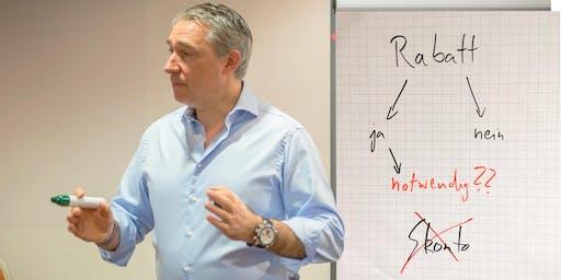 """Praxis-Training """"Verkaufen ohne Rabatte"""""""