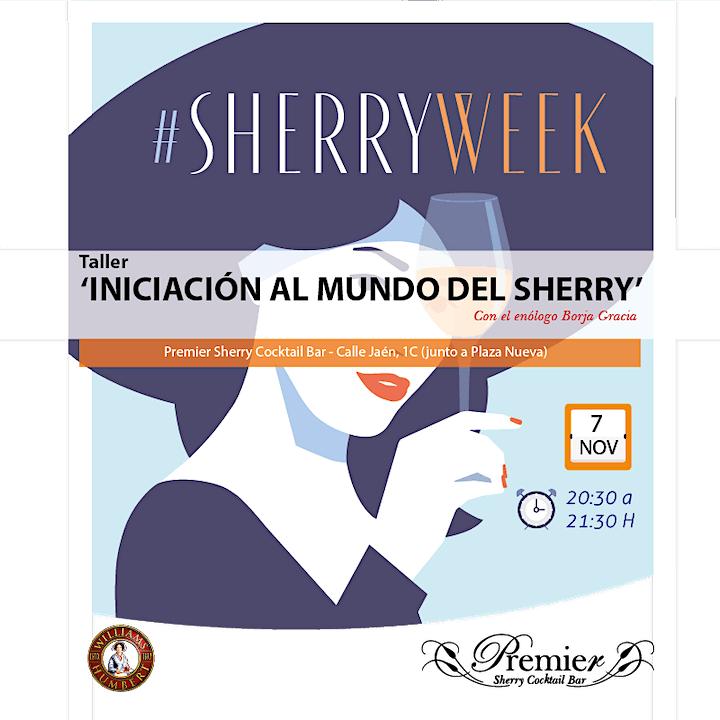 Imagen de INICIACIÓN AL MUNDO DEL SHERRY