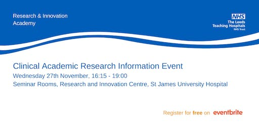 Clinical Academic Research Information Event