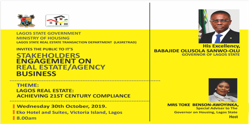 STAKEHOLDERS ENGAGEMENT ON REAL ESTATE/AGENCY BUSINESS