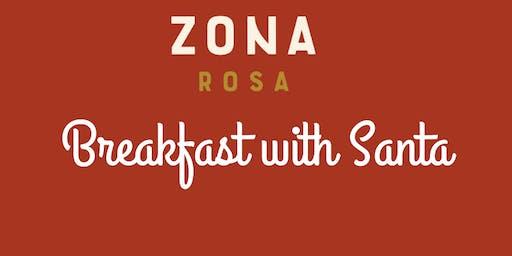 Zona Rosa Breakfast with Santa