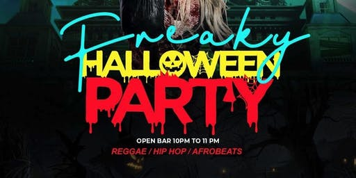 Freaky Friday Halloween Party & Costume Contest ● Open Bar 10-11pm