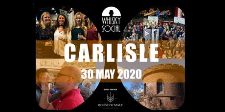 Carlisle Whisky Social - A unique whisky tasting festival! tickets