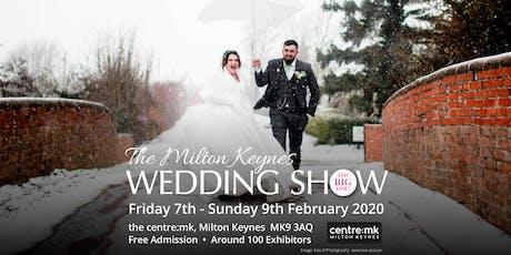 Milton Keynes Wedding Show THE BIG ONE 7th - 9th February 2020 thecentre:mk tickets