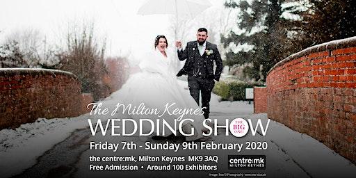 Milton Keynes Wedding Show THE BIG ONE 7th - 9th February 2020 thecentre:mk
