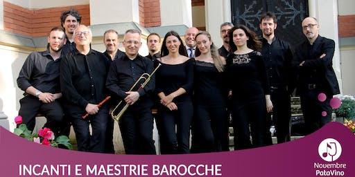Incanti e maestrie barocche: concerto + degustazione di vini
