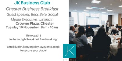 JK Business Club Chester Breakfast