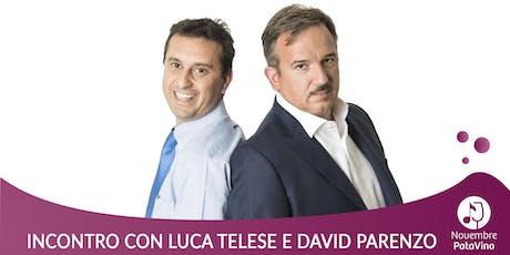 David Parenzo e Luca Telese presentano  I falsari biglietti