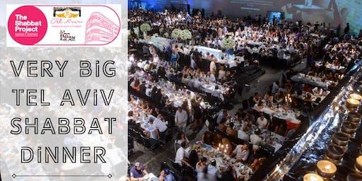 INVITATION: Tel Aviv Shabbat Project BIG BIG Dinner @Hangar 11, Nov 15