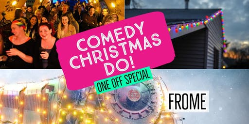 Comedy Christmas Special (with Prosecco & Craft Beer) - Silk Mill
